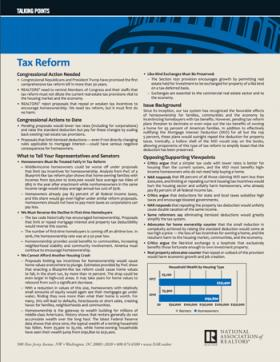 Tax Reform Talking Points Thumb - October 2017