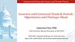 Cover of slide deck: Economic and Commercial Trends & Outlook