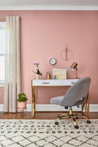 Dusty Pink Powder Room