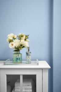 Valspar light soft blue paint color