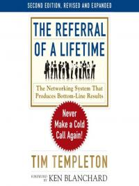 The Referral of a Lifetime eBook Cover