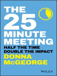 The 25 Minute Meeting eBook Cover